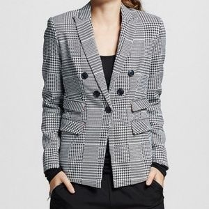 XOXO Notch Collar Five-Button Fitted Blazer